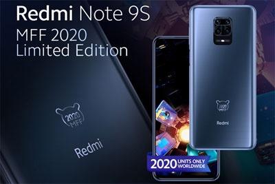 Redmi Note 9S米粉节限量版亮相:限量2020台