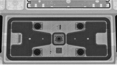 X光下管窥新款iPad Pro带触控板键盘保护套内部设计
