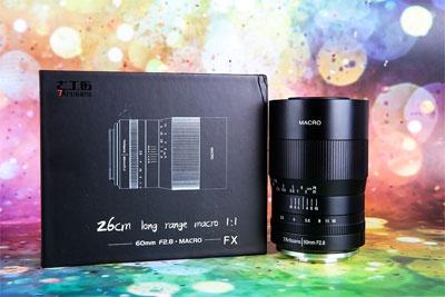 感受微观视界 七工匠60mm F2.8微距镜头评测