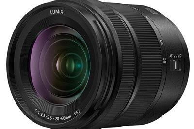 松下Lumix S 20-60mm F3.5-5.6镜头外观照