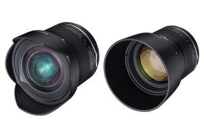 森阳发布MF14mm f/2.8 II和MF 85mm f/1.4 II镜头