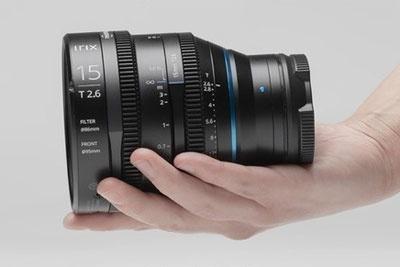 Irix Cine 15mm T2.6视频头正式发布