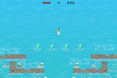 微软Edge浏览器推出冲浪小游戏,断网也能下海摸鱼?