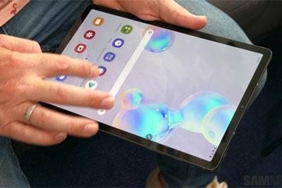三星Galaxy Tab S7+配置曝光:配备骁龙865+