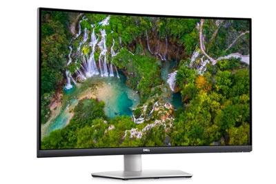 戴尔发布S3221QS显示器:4K曲面屏,双5W音箱