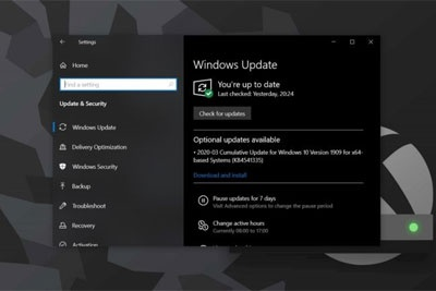 微软Win10版本1909 Build 18363.959正式推送