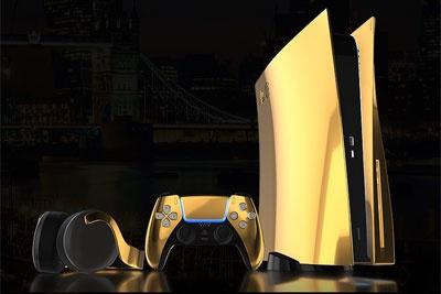 24K黄金限量版索尼PS5公布,还有金手柄