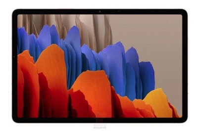 三星Galaxy Tab S7/S7+渲染图、配置全曝光:120Hz屏