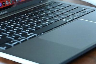 新专利显示苹果未来笔电键盘可以充当触控板