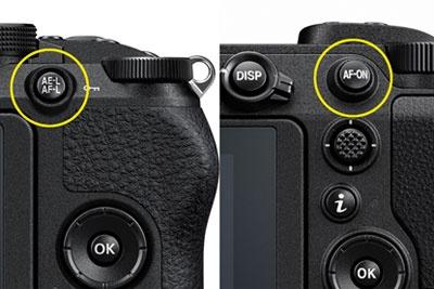 尼康相机中的AE-L/AF-L和AF-ON功能解析