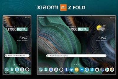 小米折叠屏手机Z Fold设计专利曝光