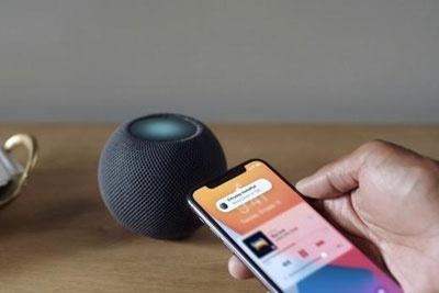 苹果HomePod mini可组成立体扬声器 还能知道你来了