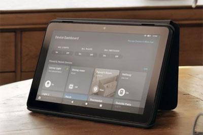 亚马逊Fire平板推出新智能家居控制按钮