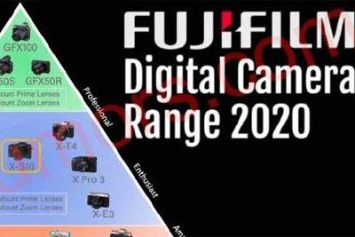 阵容已相当庞大 富士2020年相机在售产品汇总