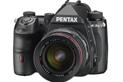 宾得新机正式命名为PENTAX K-3 Mark III