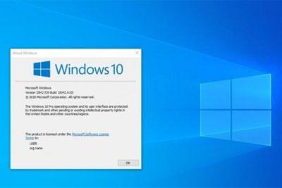 可选更新KB4580364发布:Windows 10升至Build 19042.610