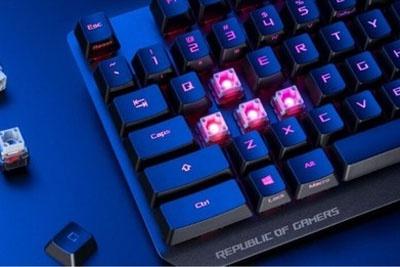华硕ROG Strix Scope RX键盘发布 1毫秒响应约1100元