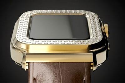 Caviar推出Apple Watch 6限量版系列 镶嵌109颗钻石