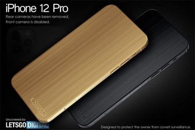 iPhone 12 Pro新版本亮相 机身镀金竟取消后置摄像头