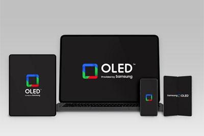 "三星显示官宣""Samsung OLED""全新品牌Logo:红绿蓝方框"