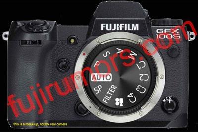 网传富士GFX100S最新消息:中画幅版的X-H1?
