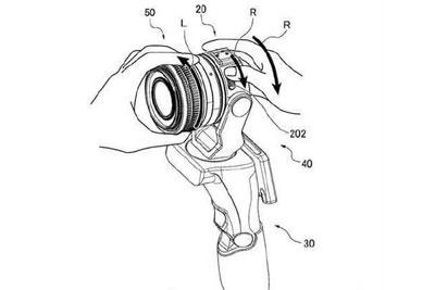 佳能可换镜头手持Vlog云台相机专利更多细节