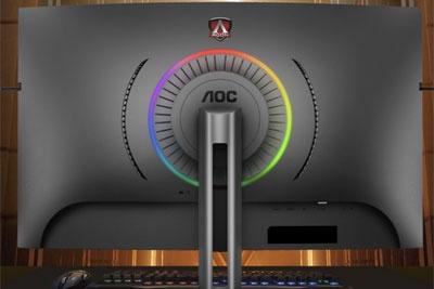 AOC发布爱攻AG323QCX2曲面显示器:155Hz刷新率,支持HDR10