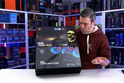 国外销售商已收到英特尔11代酷睿CPU样品,搭配微星主板