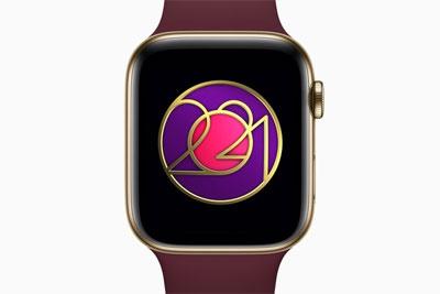 "Apple Watch""国际妇女节""奖章亮相 运动20分钟可获得"