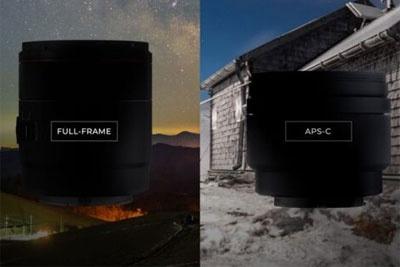 森养AF 12/2.E APS-C镜头将于4月23日发布