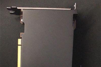 疑似苹果Mac定制AMD RDNA2显卡外观曝光