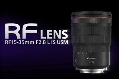 佳能将发布RF14-35mm F4 L镜头