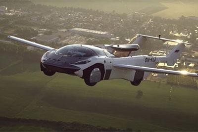 从汽车到飞机,人类花了18年,而这辆车只需要3分钟
