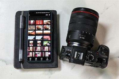 专业影像器材能否像使用手机一样简单?