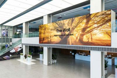 三星发布1000英寸The Wall显示屏:高达16K分辨率,120Hz帧率