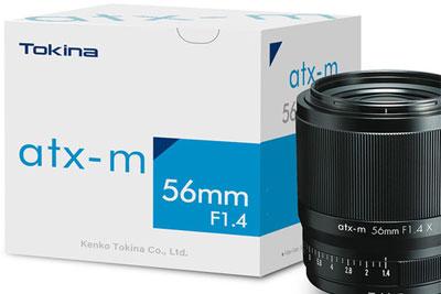 图丽正式发布atx-m 56mm F1.4 X:人像好头