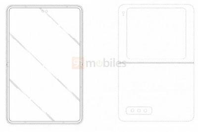 Galaxy Z Flip 3继任者?三星新专利显示会有超大副屏和双打孔前摄