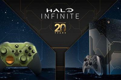 纪念20周年 Xbox Series X-Halo Infinite限量版等发布