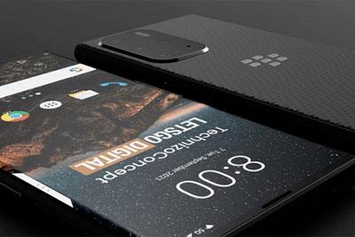 设计师分享黑莓Evolve X2 5G概念智能机高清渲染图