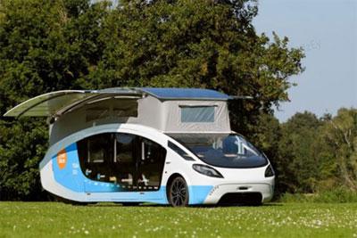 荷兰学生团队打造太阳能房车!一天能跑730公里