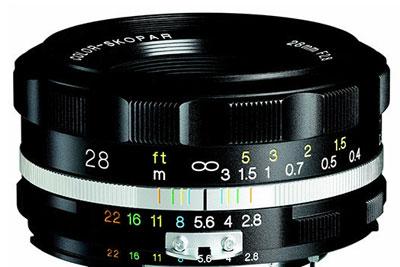 福伦达28mmF2.8新镜头曝光:复古味儿真浓