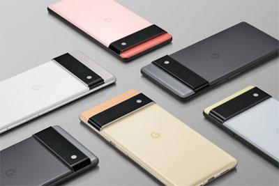 谷歌Pixel 6/Pro在纽约谷歌商店展出:Pro版将配备专用长焦模组