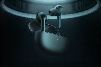 小米真无线降噪耳机3 Pro预热:曜石黑、流光白、极光绿三款配色