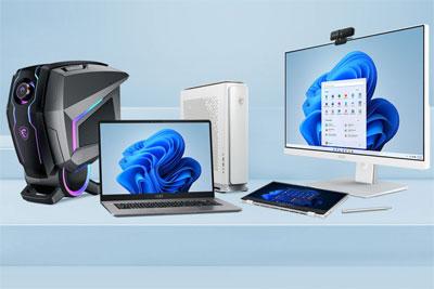 微星公布支持升级Win11的设备列表,将于2021年底开始推送