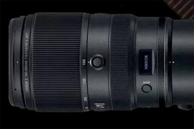 尼康Z100-400mm f/4.5-5.6 S曝光