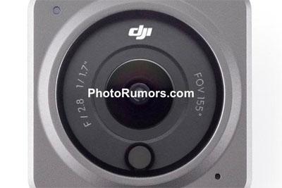 大疆DJI Action 2运动相机外观曝光