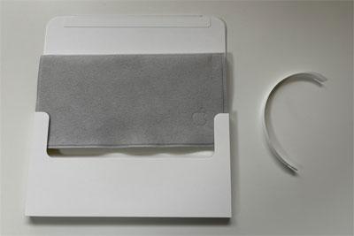 网友晒出145元的苹果全新抛光布照片,兼容所有Apple产品