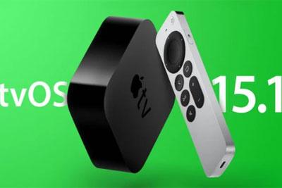 苹果tvOS 15.1正式版发布:新增支持SharePlay等