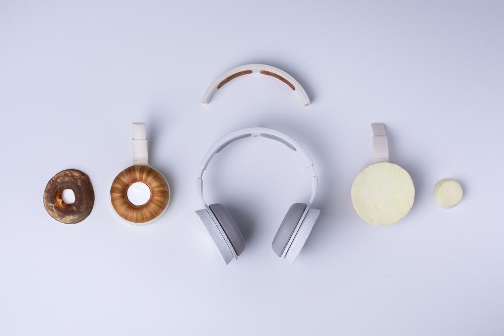 微生物制成的耳机 不含塑料元件