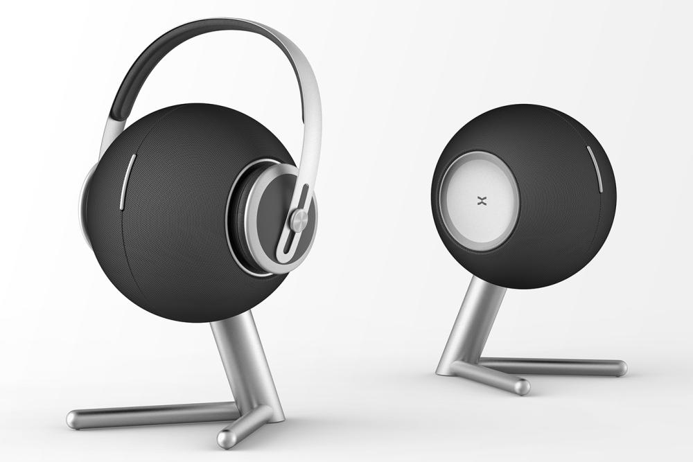 概念设计:为什么不把耳机挂在音箱上呢?